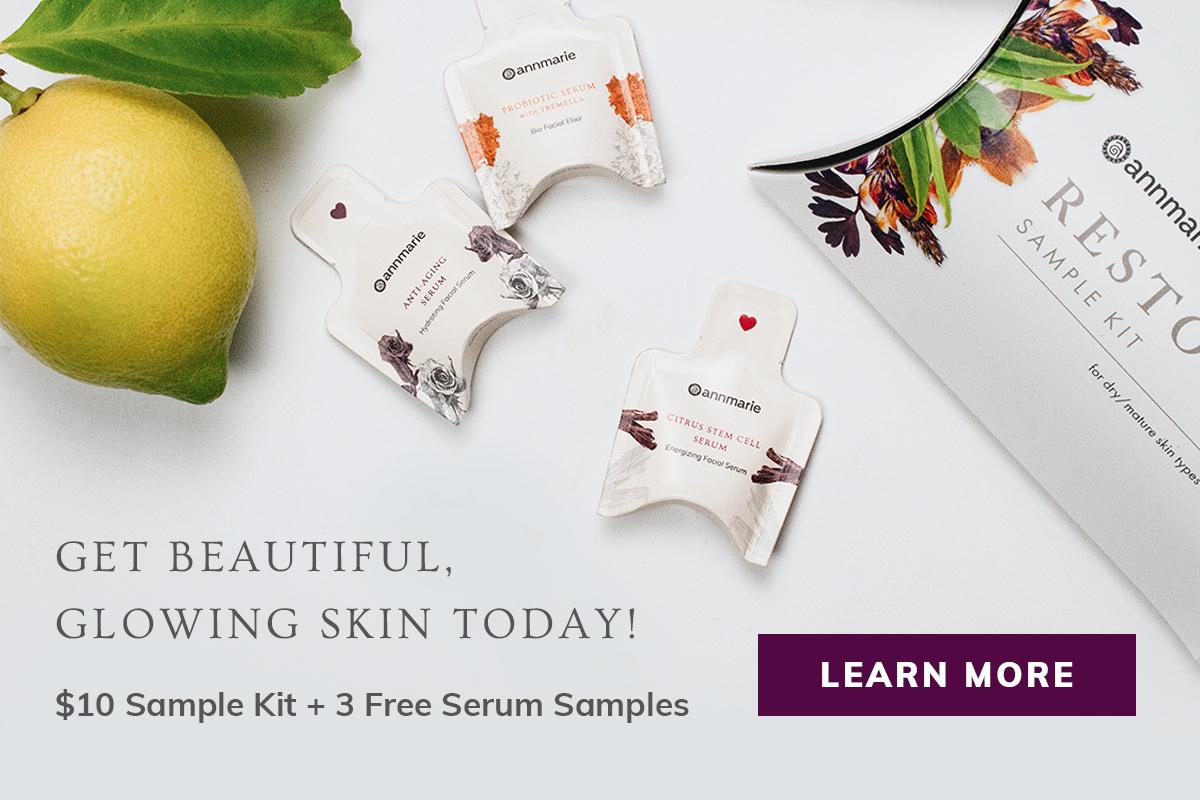 Annmarie Gianni Sample Kit + 3 Free Serum Samples